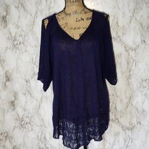 Westport| Cold shoulder blouse